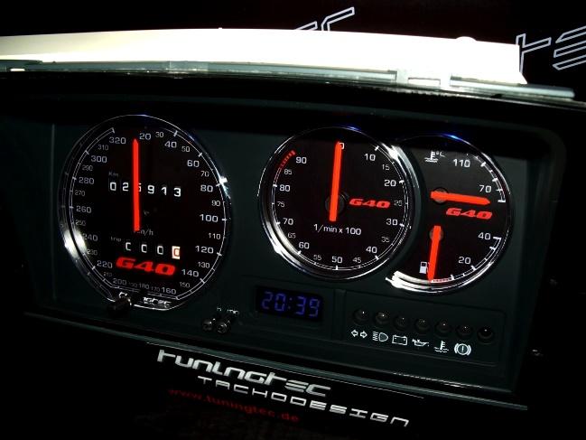 genialer Tachoumbau R32-G40-Style....wirkt Hammerhart !!!