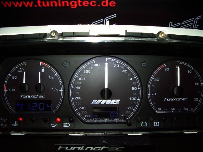 VR6 Tachoumbau im R32-Style Passat Corrado